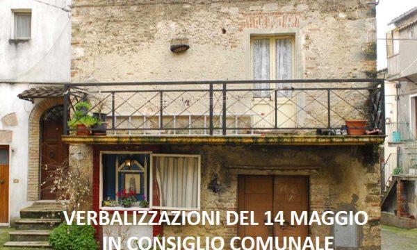PIAZZETTA DEL GHETTO: VERBALIZZAZIONE CONSIGLIO COMUNALE DEL 14 MAGGIO