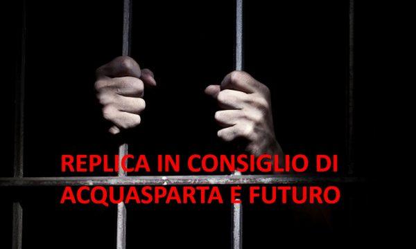 REPLICA A PROGETTO COMUNITA' E GIUSTIZIA – DETENUTI AD ACQUASPARTA