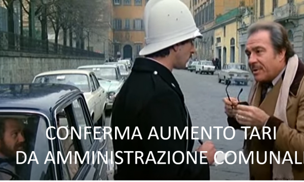 AUMENTO TARI – REPLICA DELL'AMMINISTRAZIONE COMUNALE