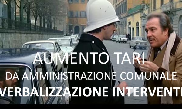 AUMENTO TARI 40.000 EURO: VERBALIZZAZIONE INTEGRALE INTERVENTI NEL CONSIGLIO COMUNALE DEL 31.12.20